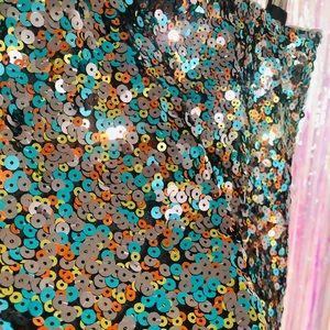 Divided H&M Sequin Skirt